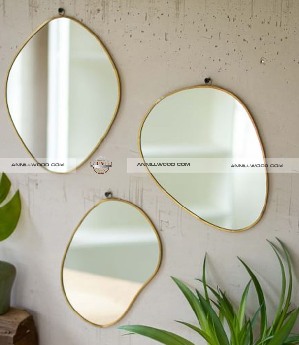آینه قدی چوبی