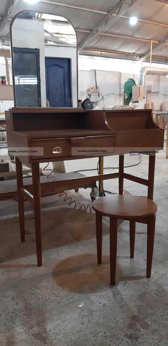 میز آرایش چوبی