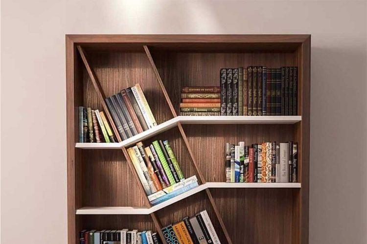 کتابخانه کلاسیک چوبی